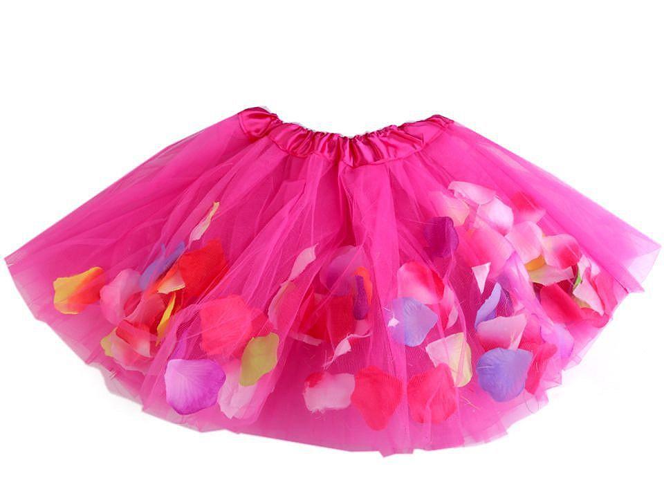 Textillux.sk - produkt Karnevalová sukienka s kvetnými lístkami