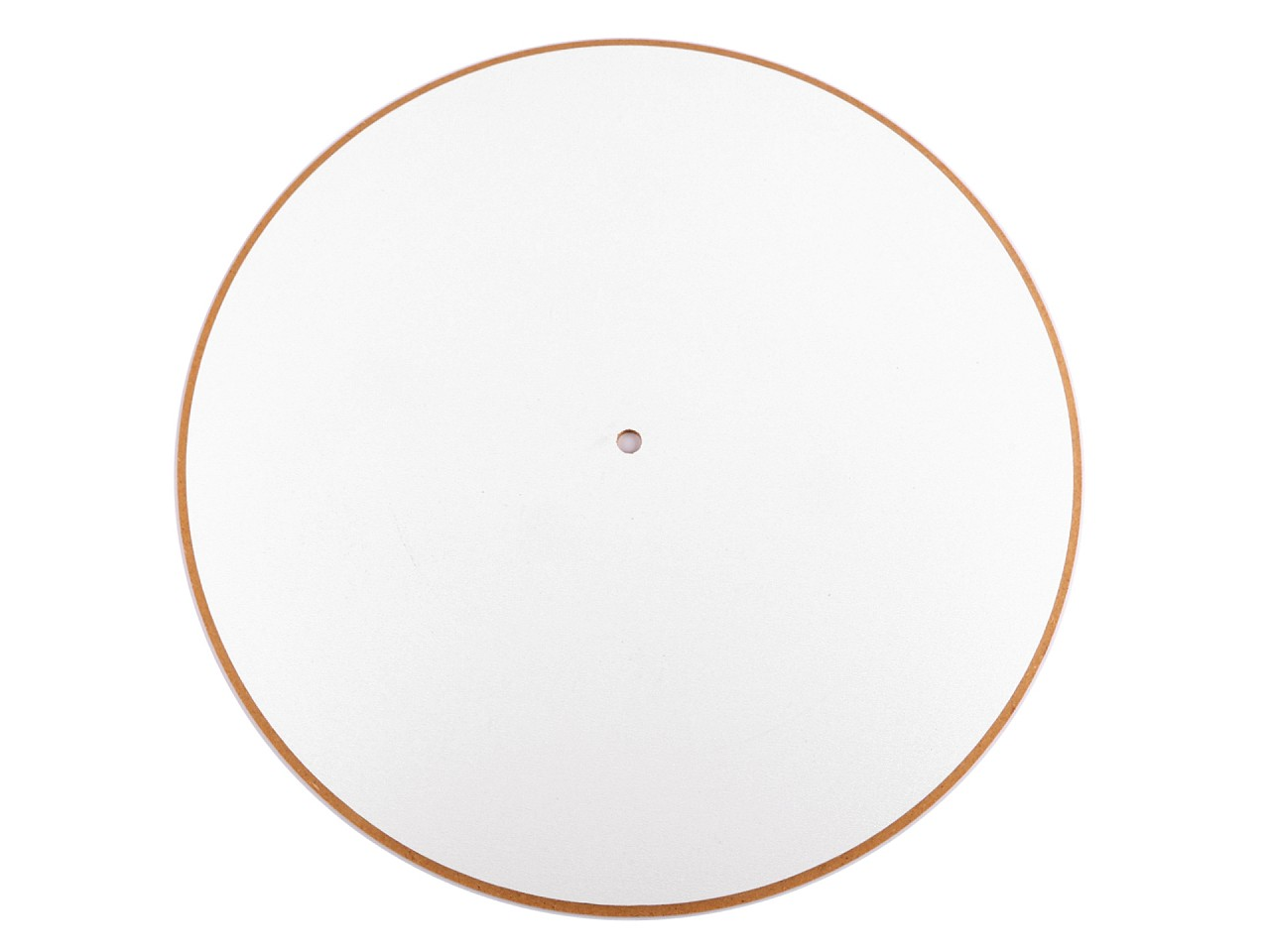 Textillux.sk - produkt Hodinový ciferník polotovar Ø30 cm - biela