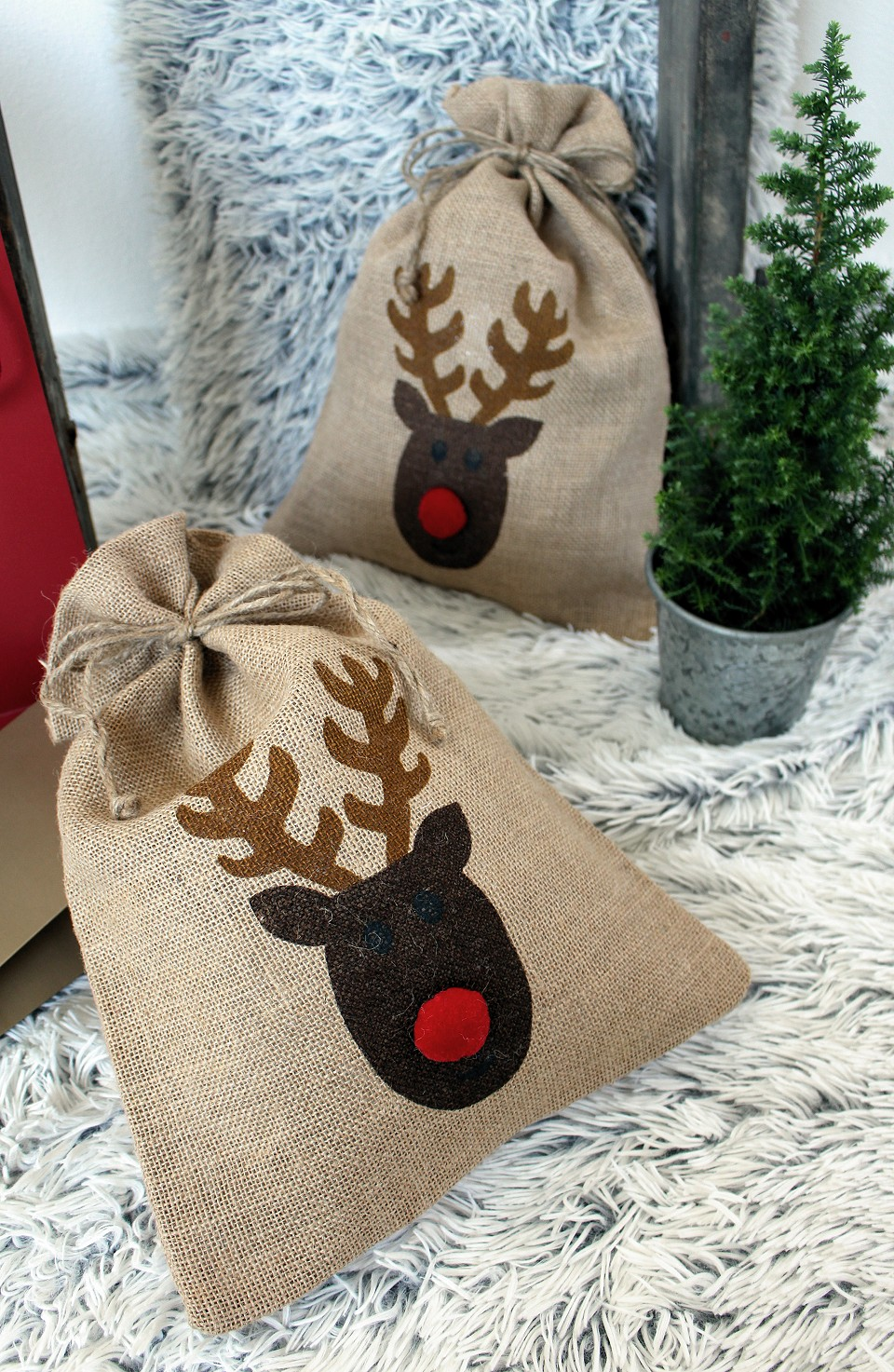 jutes ckchen weihnachten nikolaus 30x40 cm stoklasa. Black Bedroom Furniture Sets. Home Design Ideas