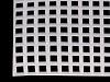 Plastová kanava / mřížka vyšívací 37x41,5 cm