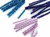 Druciki kreatywne z lureksem błyszczące Ø6 mm długość 30 cm