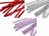 Christmas Fuzzy Chenille Wire Sticks with lurex Ø6 mm length 30 cm