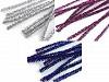 Fuzzy Chenille Wire Sticks with lurex Ø6 mm length 30 cm