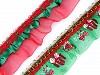 Vánoční volánek šíře 48 mm