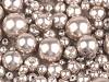 Skleněné voskové perly mix velikostí Ø4-12 mm