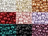 Sklenené voskové perly mix veĺkostí Ø4-12mm