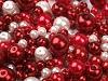 Szklane woskowane perły mix rozmiarów i kolorów Ø4-12 mm