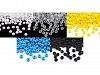 Rokail - koraliki szklane Preciosa 6/0 - 4mm nieprzezroczyste