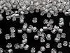 Rokail - koraliki szklane Z POWLEKANĄ, KOLOROWĄ DZIURKĄ 2mm