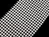 Borta šírka  50 mm s perlami