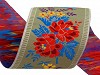 Vzorovka šírka 55mm krojová polyesterová