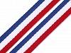Trouser Side Stripe / Tricolor Trim width 10 mm
