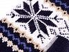 Rękawiczki dziecięce jednopalczaste norweski wzór