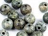 Minerálové korálky Serpentinit ruský zelený Ø6 mm