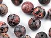 Minerálové korálky Jaspis leopardí Ø6 mm
