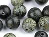 Minerálové korálky Serpentinit ruský zelený Ø8 mm