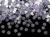 Cekiny mini płatki śniegu Ø5 mm