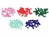 Plastové korálky Color Ø6 mm