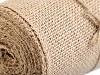 Jutová stuha šírka šírka 13 cm