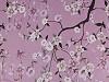 Šifón s malými květy - zlatý lesk
