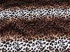 Umělá kožešina / plyš leopard