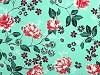 Viskózová látka květy