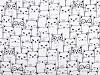 Bavlnená plienkovina / mušelín mačky