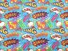 Dekorační látka Loneta komiks