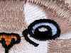 Nažehlovačka mačka