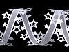 Vysekávaná stuha hvězdy šíře 40 mm