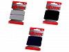 Hladká guma na kartách šírka 20mm farebná
