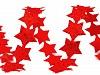 Saténový prámik šírka 14 mm hviezda s glitrami
