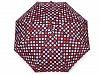 Dámský mini skládací deštník puntík
