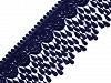 Vzdušná čipka so strapcami šírka 80 mm