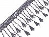 Vzdušná čipka so strapcami šírka 12 cm