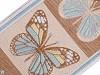 Vzorovka / metráž motýli šíře 90 mm