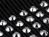 Lampas / rypsová stuha s brúsenými kamienkami šírka 30 mm