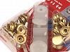 Capse metalice cu aplicator, finisaj auriu, Ø15 mm