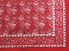 Bavlnená šatka kašmírový vzor 70x70 cm