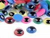 Plastové oči barevné Ø10 mm