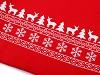 Dárkový vánoční / mikulášský pytlík 30x35 cm