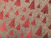 Darčekové vrecúško stromček veľký 30x40 cm imitácia juty