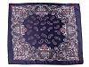 Saténový šátek paisley 60x60 cm