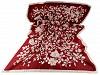 Saténový šál šípková ruža 90x180 cm