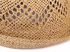 Letní klobouk k dozdobení, unisex