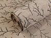 Imitace juty šíře 48 cm větvičky s glitry