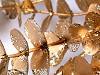Vánoční větvička / eukalyptus s glitry