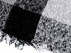 Chusta / szal z frędzlami 135x135 cm