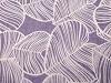 Šála tropické listy 95x185 cm