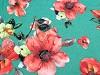 Šála květy 70x180 cm